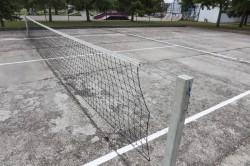 Streetball- és lábteniszpálya
